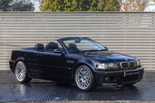 2006 BMW M3 3.2 E46 CONVERTIBLE SMG (CS UPGRADES) SOLD (picture 1 of 6)