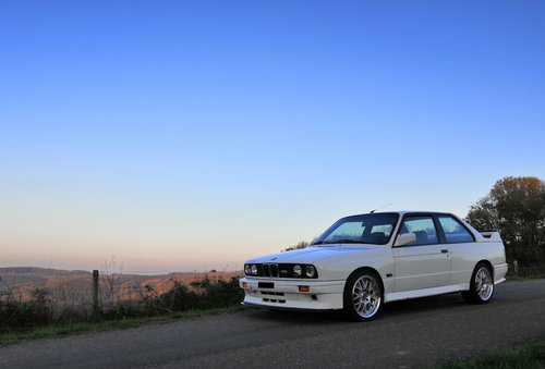 1988 BMW M3 E30 // Original Alpinweiss For Sale (picture 1 of 6)