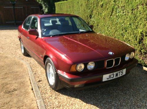 1991 520i Auto E34 For Sale (picture 1 of 6)