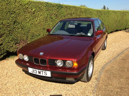 1991 520i Auto E34 For Sale (picture 6 of 6)