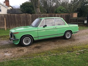 1975 BMW 1602 Tii/Alpina look-a-like For Sale