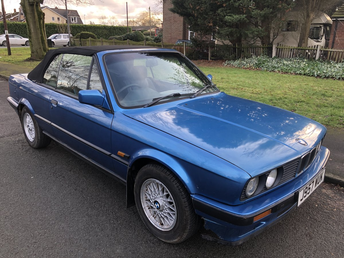 1991 BMW 318 Neon Blue Motorsport edition SOLD (picture 1 of 6)