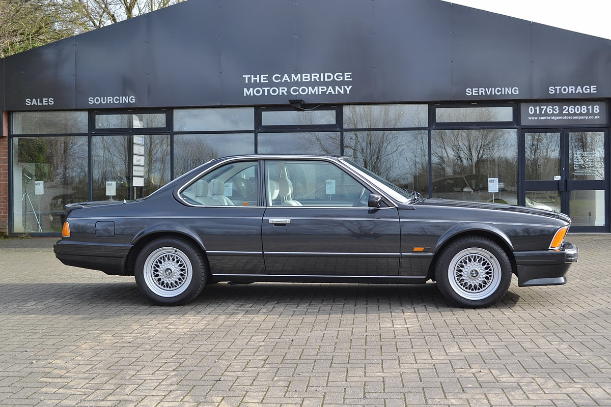 1988 BMW 6 SERIES 3.5 635CSI SOLD (picture 1 of 6)