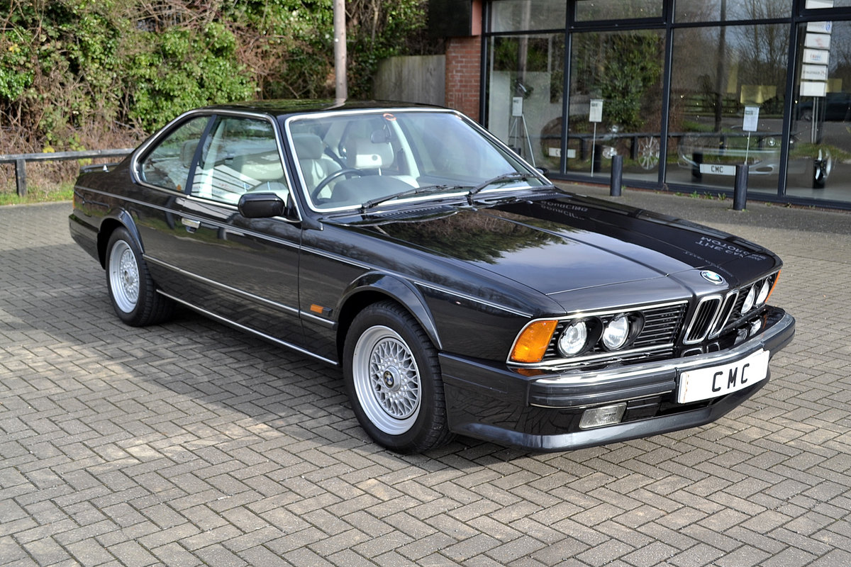 1988 BMW 6 SERIES 3.5 635CSI SOLD (picture 2 of 6)