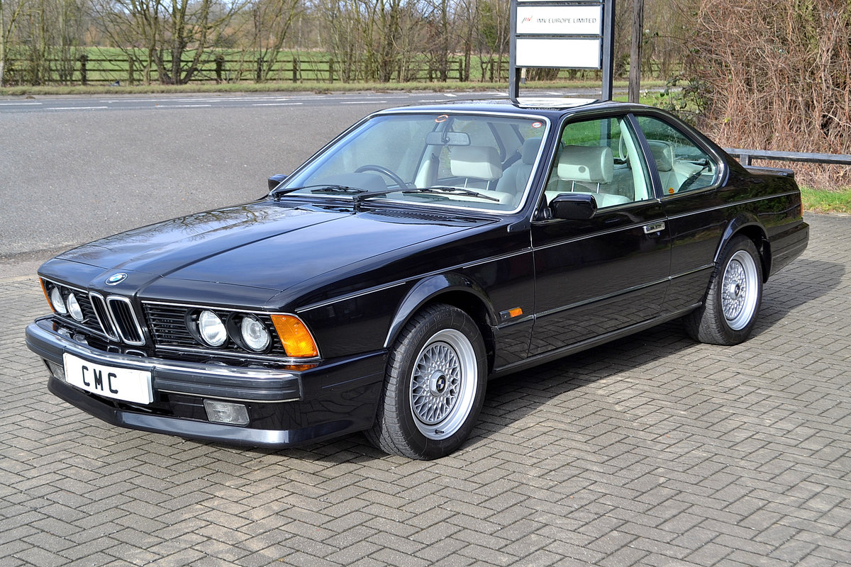 1988 BMW 6 SERIES 3.5 635CSI SOLD (picture 3 of 6)