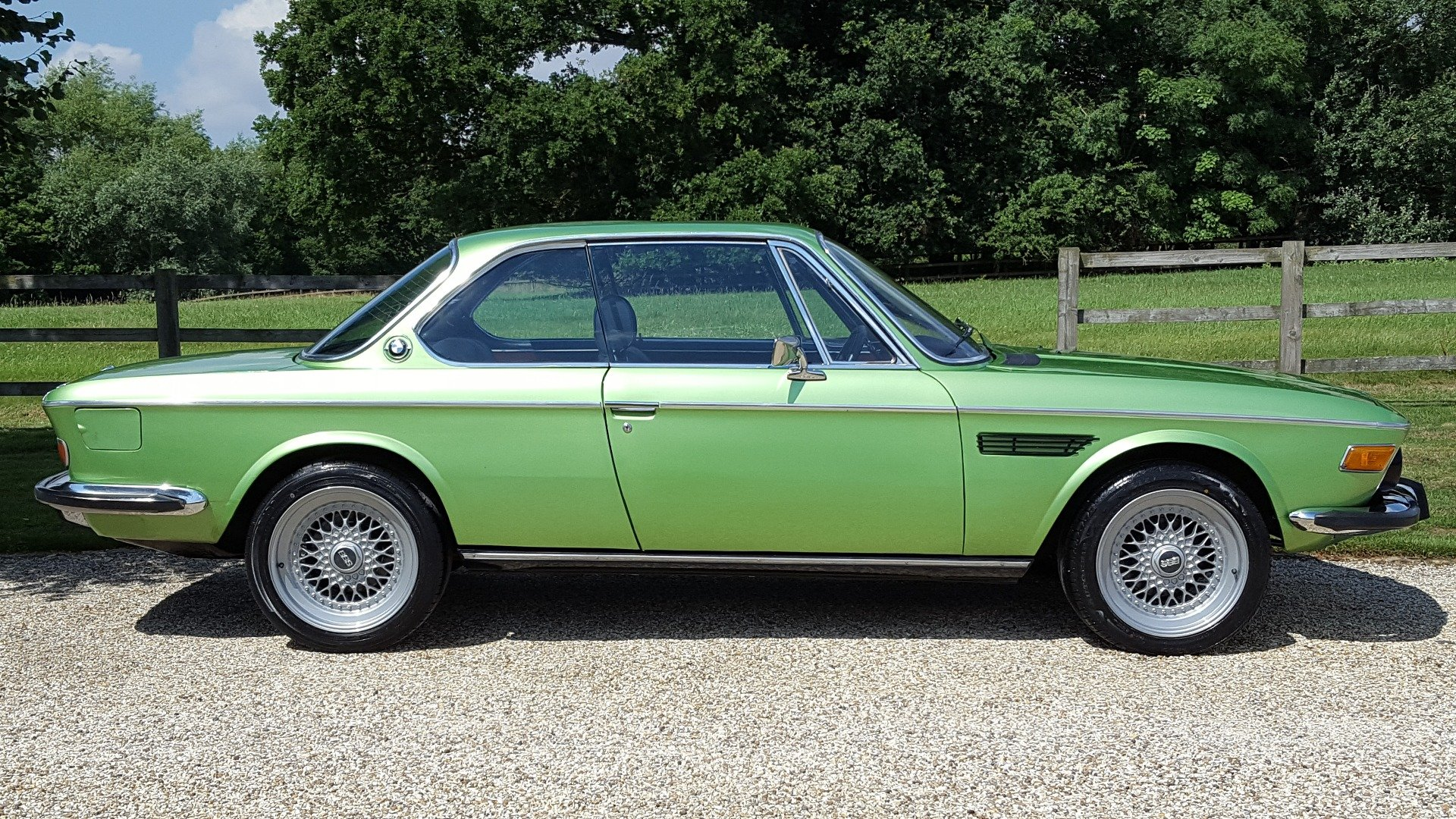 1974 FULLY  RESTORED  RHD  E9  CSI  FACTORY  COLOUR   For Sale (picture 2 of 6)