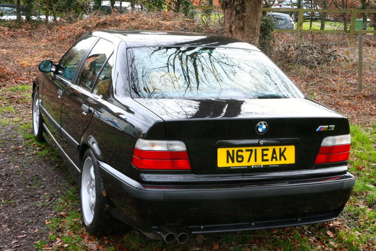 1996 BMW M3 EVO Saloon 6 speed Manual 45000 miles For Sale (picture 3 of 6)