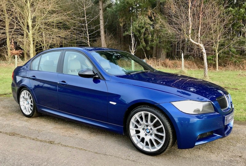 2006 BMW 320si - 1 of 500 UK, FSH (12 stamps), WTCC / BTCC Homolo SOLD (picture 1 of 6)