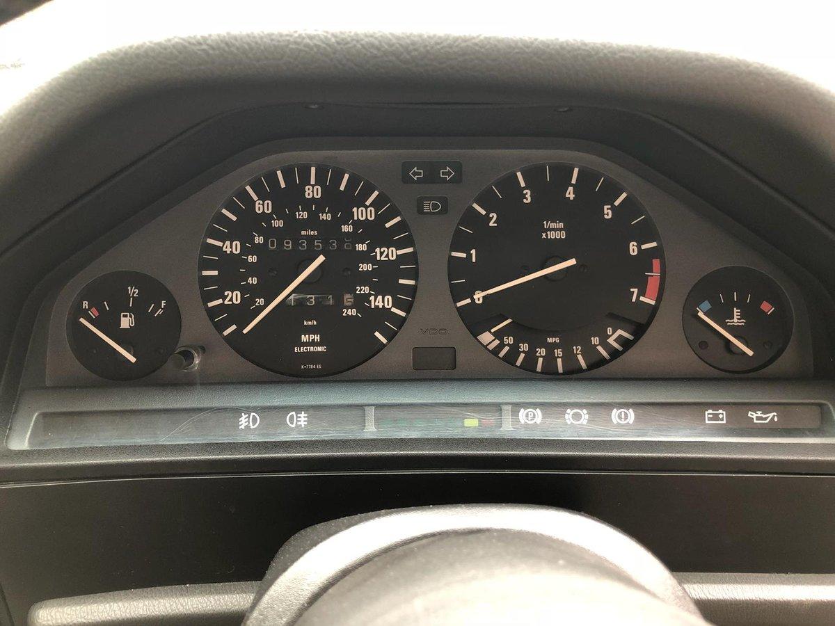 1989 BMW E30 325i Converitble FSH SOLD (picture 5 of 6)