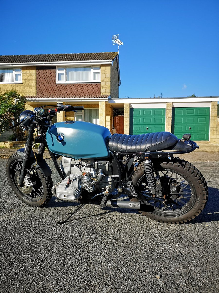 1979 BMW R65 650cc Cafe Racer Scrambler For Sale (picture 2 of 6)