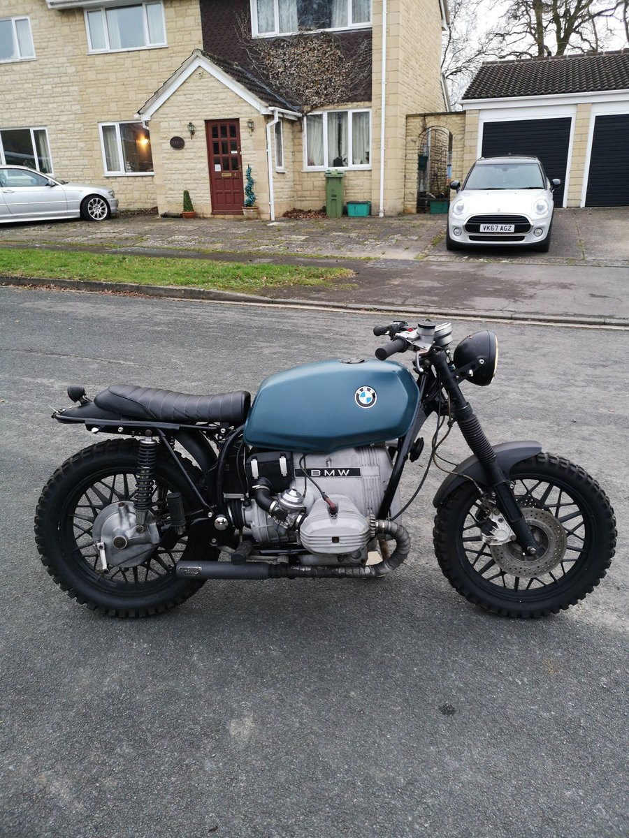 1979 Bmw R65 650cc Cafe Racer Scrambler For Sale Car And