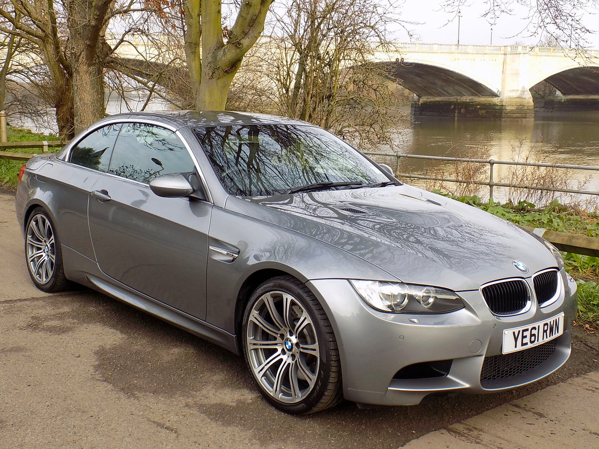 2011 BMW  M3 (E9X) Convertible S  SOLD (picture 1 of 6)