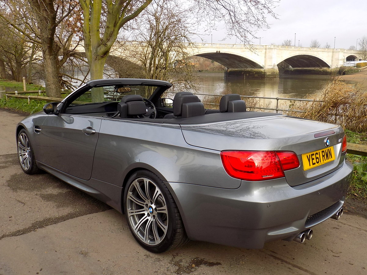 2011 BMW  M3 (E9X) Convertible S  SOLD (picture 2 of 6)