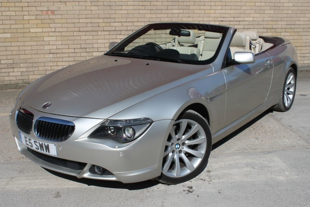 2006 BMW 650I CONVERTIBLE, CABRIOLET COUPLE AUTOMATIC For Sale (picture 1 of 6)