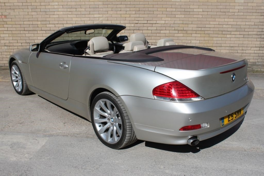 2006 BMW 650I CONVERTIBLE, CABRIOLET COUPLE AUTOMATIC For Sale (picture 5 of 6)