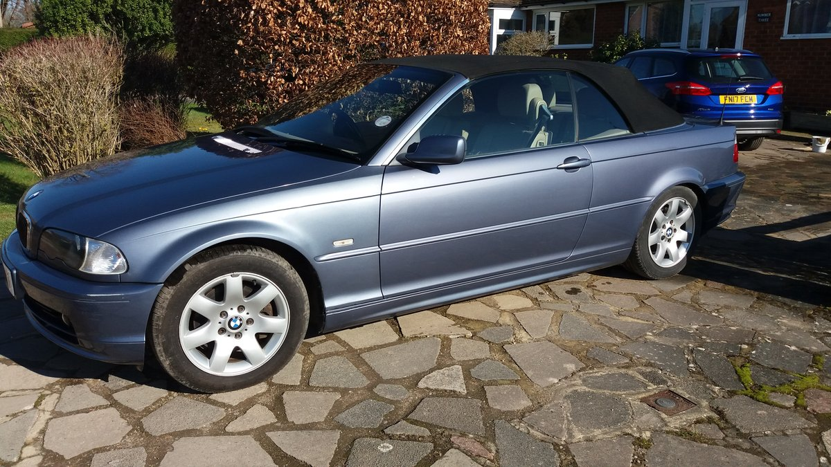 2003 BMW 325CI Cabriolet For Sale (picture 1 of 6)