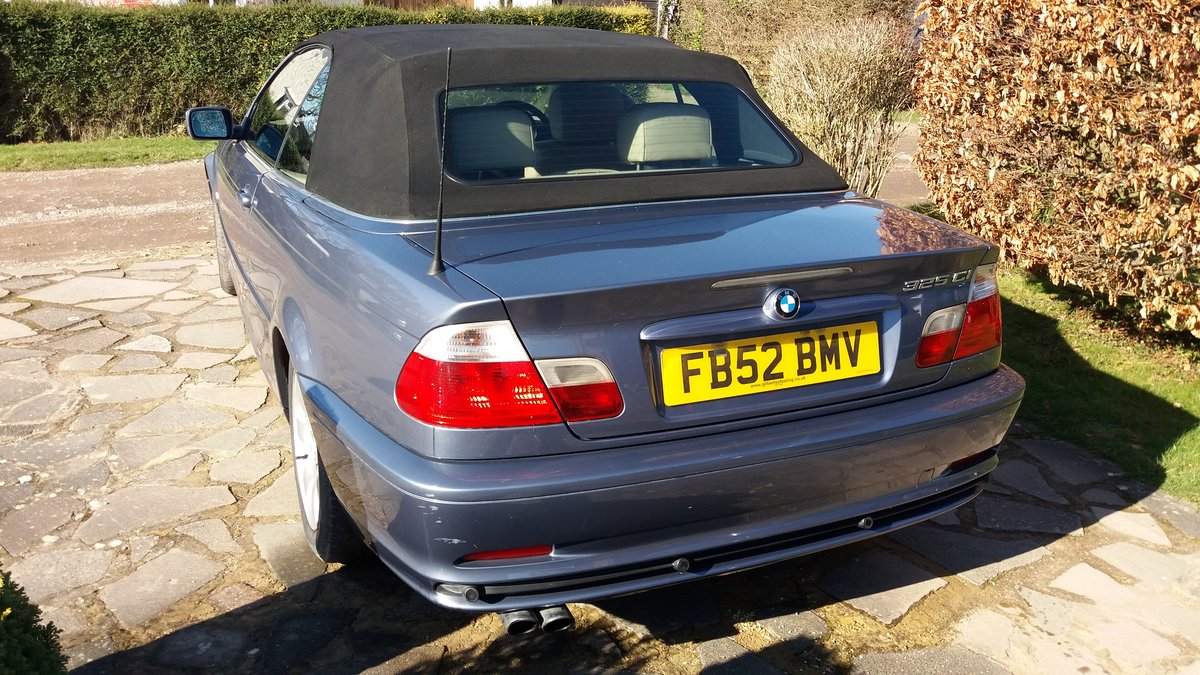 2003 BMW 325CI Cabriolet For Sale (picture 5 of 6)