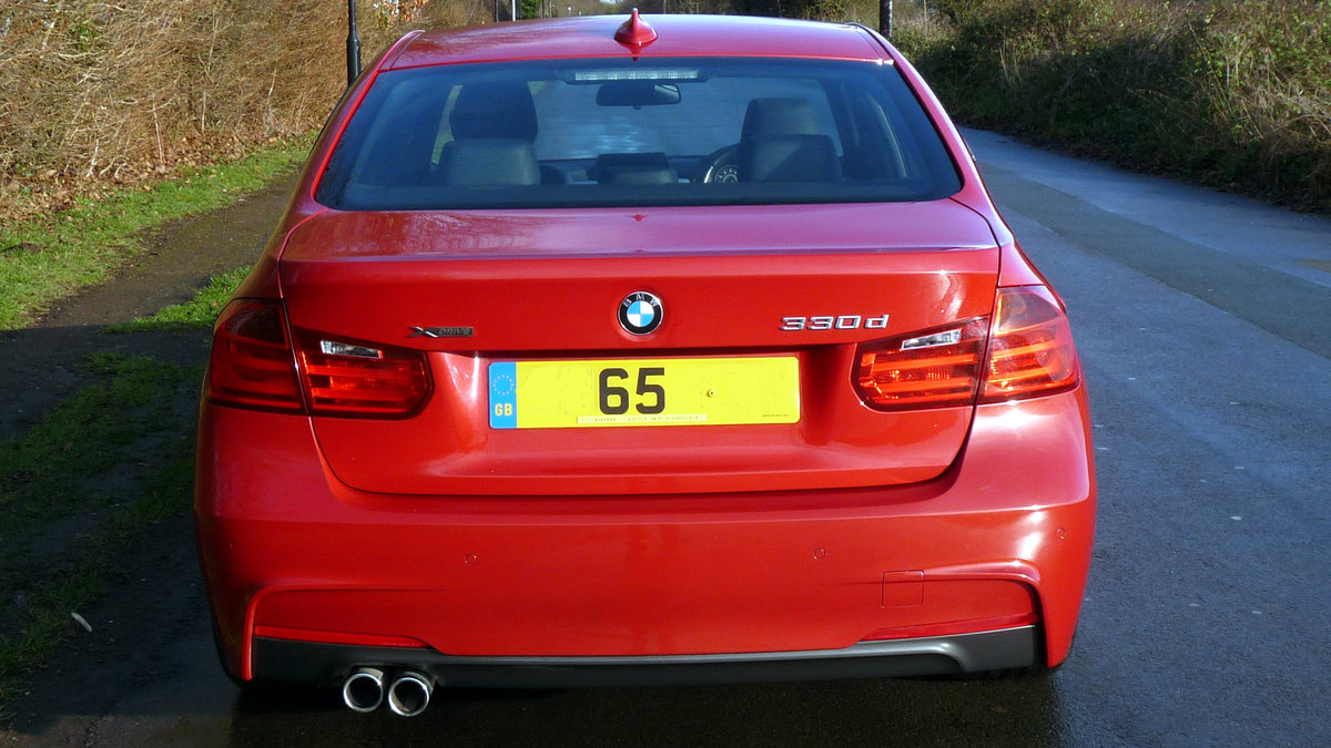 2015 BMW 330d X DRIVE M SPORT STEP AUTO For Sale (picture 3 of 6)