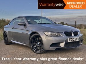 2012 BMW M3 4.0 V8 DTC Convertible with Full BMW History For Sale