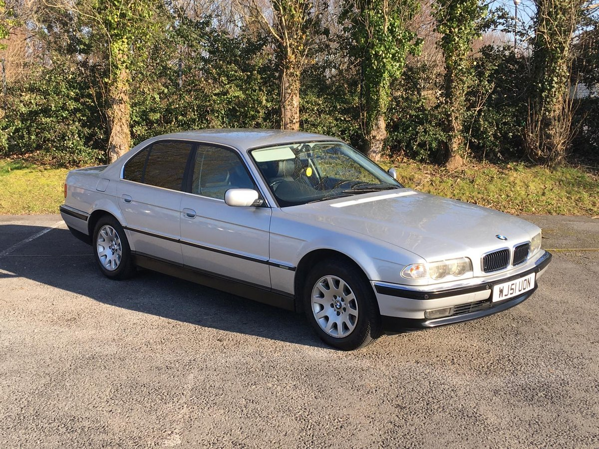 2001 51 BMW 728i 93000 miles silver For Sale (picture 1 of 6)