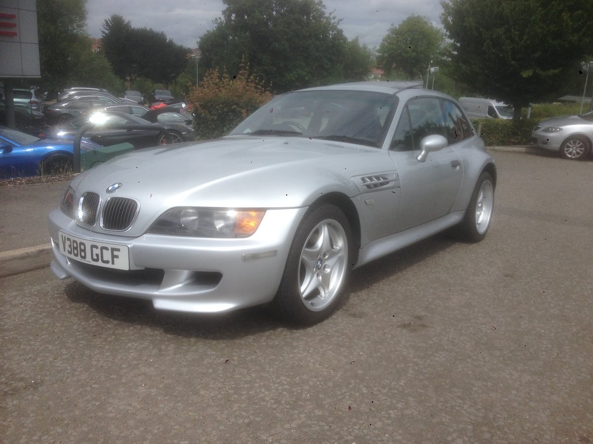 1999 Immaculate BMW Z3M Coupe only 70000 miles from new For Sale (picture 2 of 5)