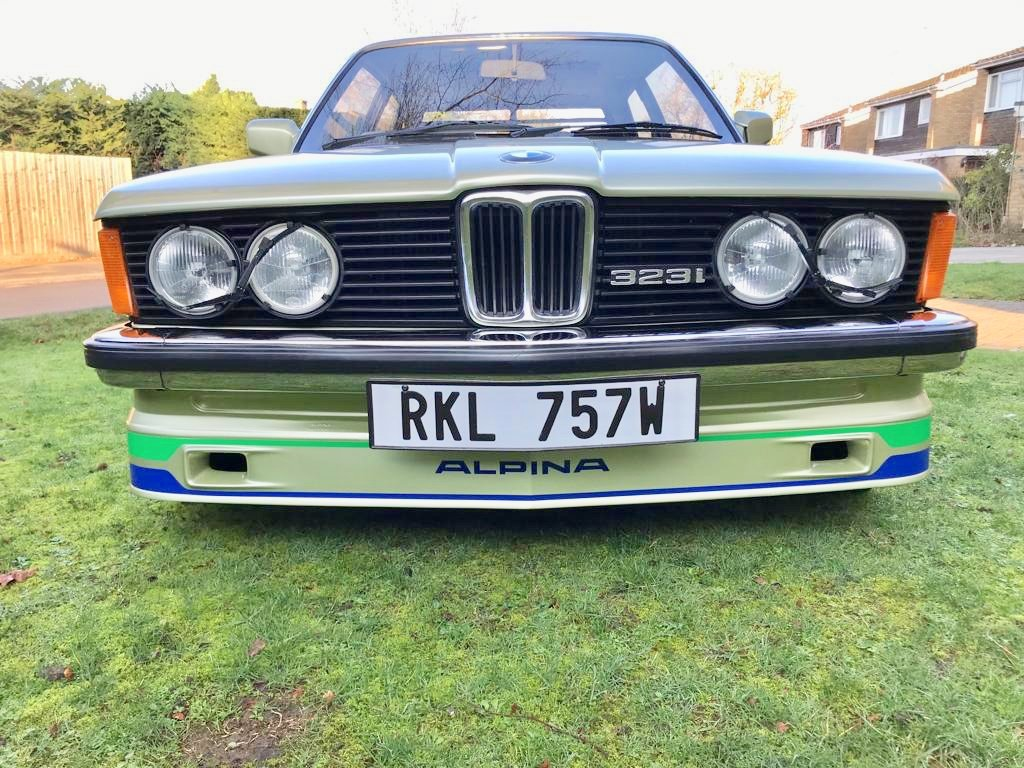 1981 STUNNING E21 323i / ALPINA RECREATION For Sale (picture 3 of 6)