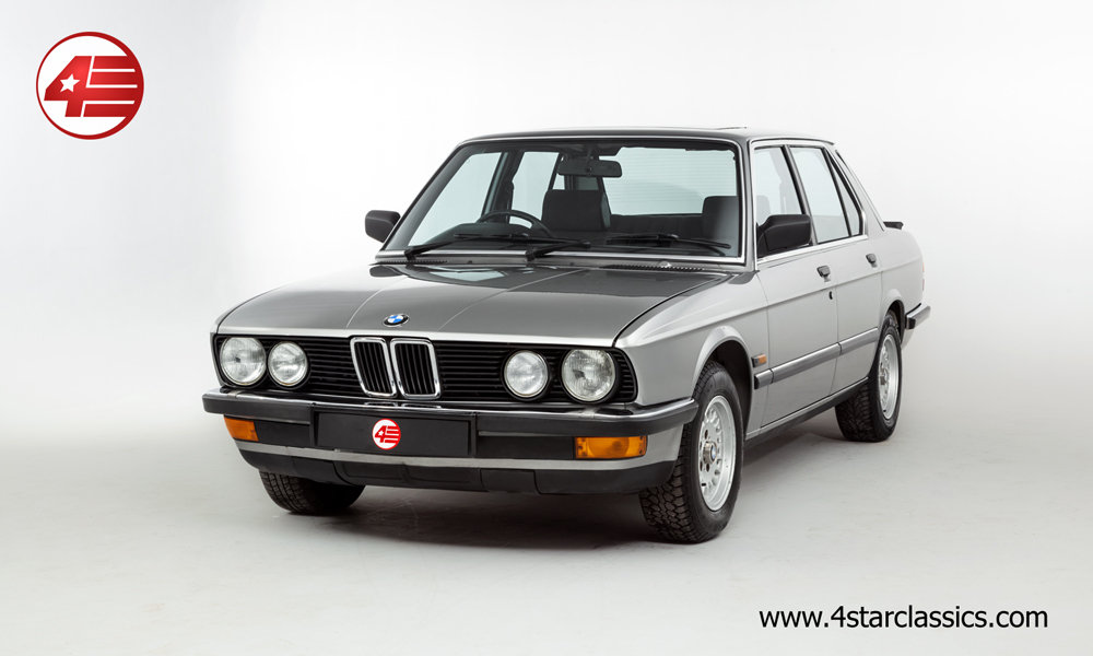 1987 BMW E25 525e /// 3 Owners and Just 48k Miles For Sale (picture 1 of 6)