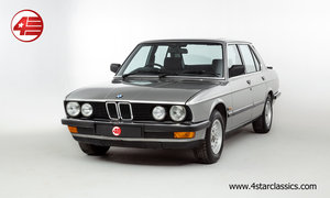 1987 BMW E25 525e /// 3 Owners and Just 48k Miles For Sale