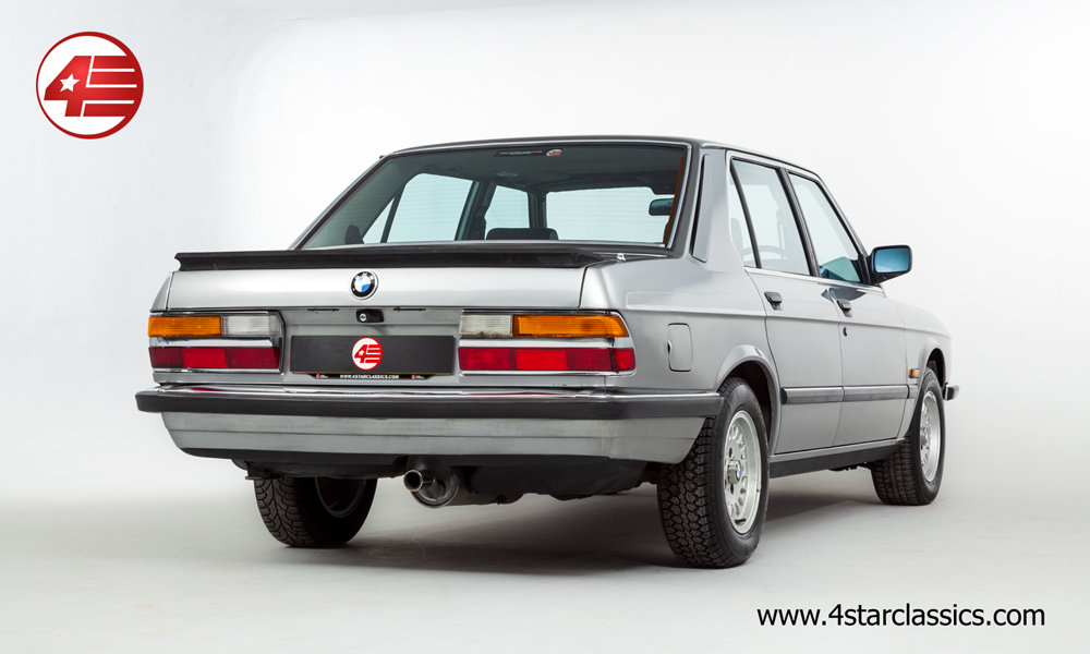 1987 BMW E25 525e /// 3 Owners and Just 48k Miles For Sale (picture 3 of 6)