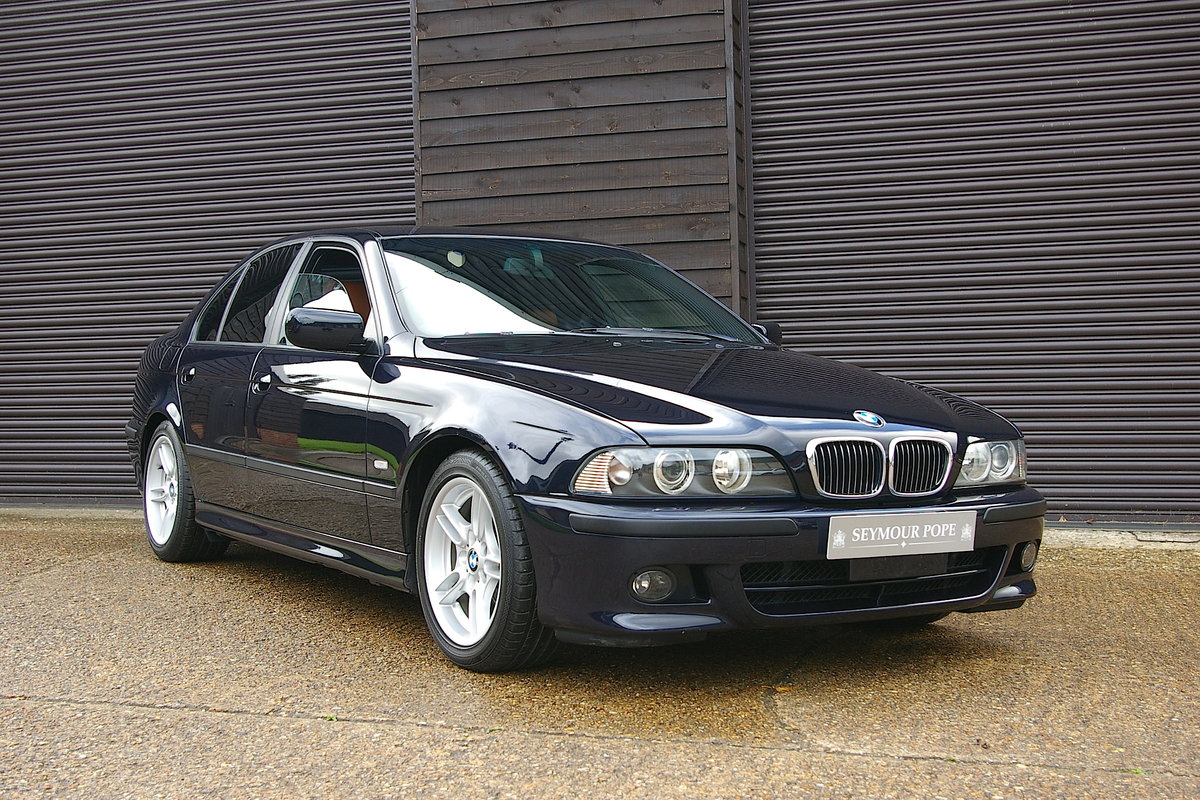 2003 BMW E39 525i Individual Automatic Saloon (44253 miles) SOLD (picture 1 of 6)
