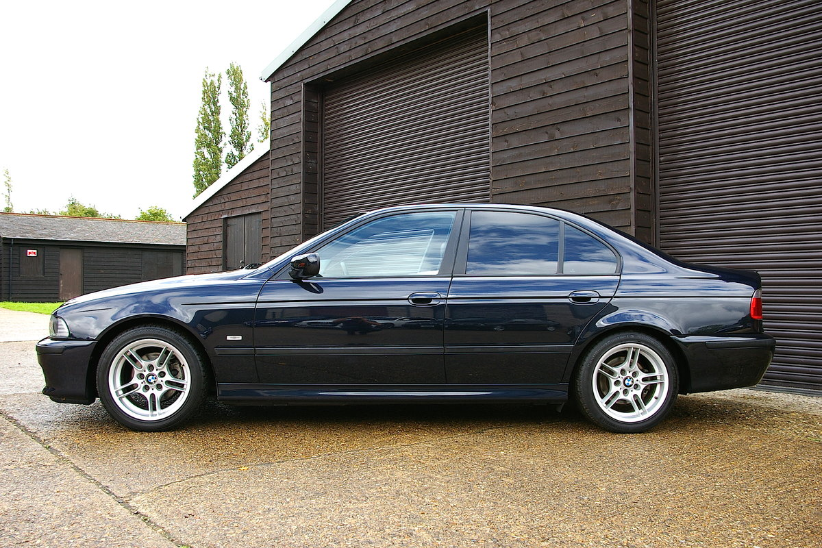 2003 BMW E39 525i Individual Automatic Saloon (44253 miles) SOLD (picture 2 of 6)