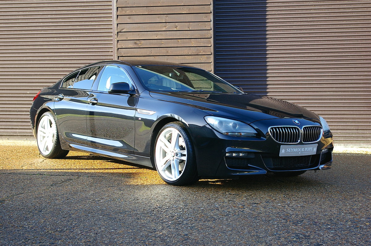 2014 BMW F06 640d M-Sport Gran Coupe Saloon Auto (75,000 miles) SOLD (picture 1 of 6)