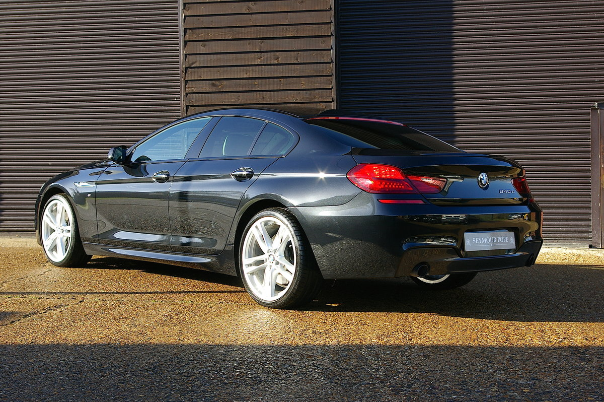 2014 BMW F06 640d M-Sport Gran Coupe Saloon Auto (75,000 miles) SOLD (picture 3 of 6)