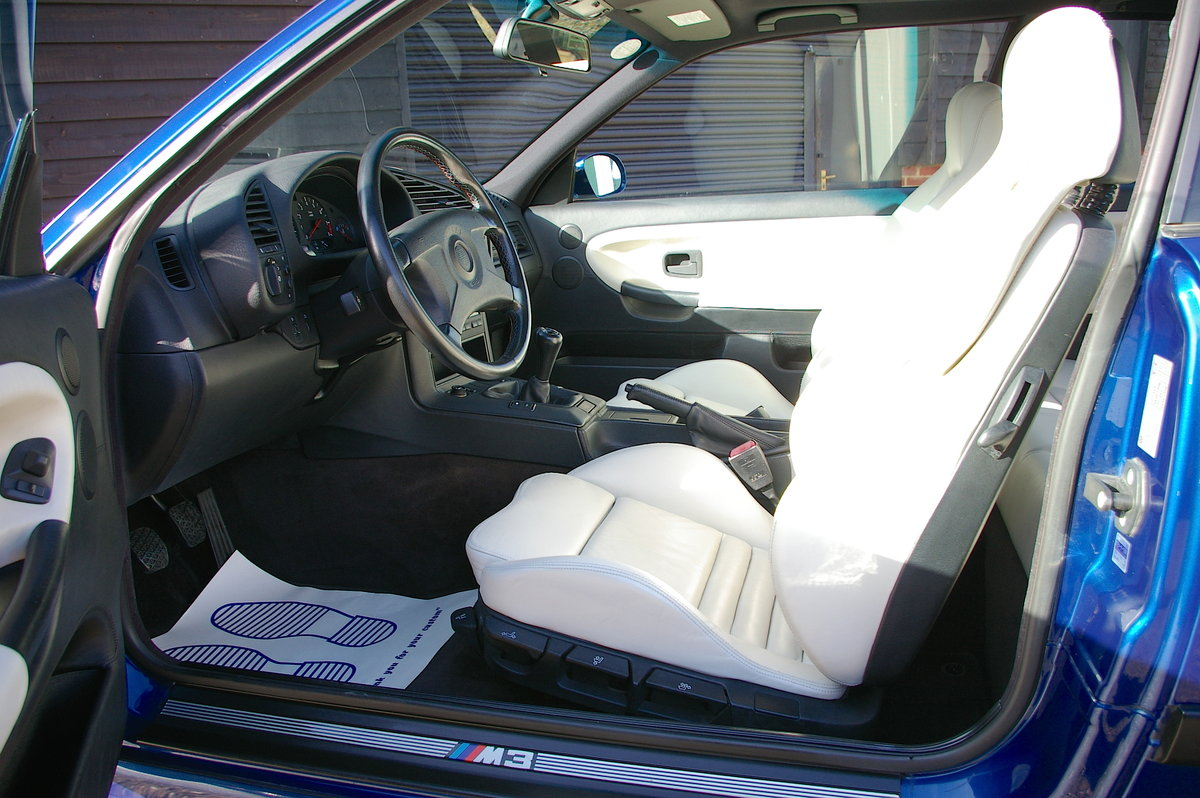 1995 BMW E36 M3 3.0 Coupe 5 Speed Manual (35,670 miles) For Sale (picture 5 of 6)
