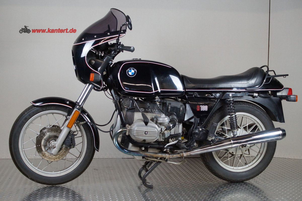 1982 BMW R 100, 78000 km, 980 cc, 67 hp For Sale (picture 1 of 6)