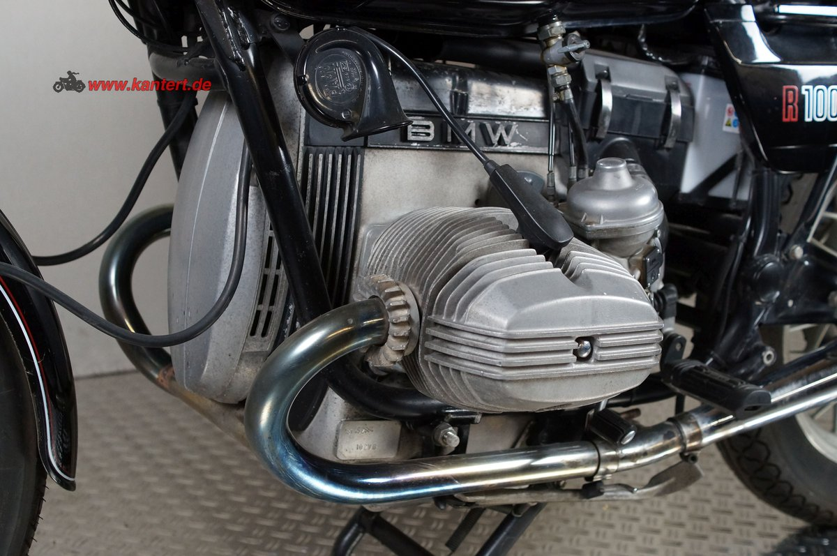 1982 BMW R 100, 78000 km, 980 cc, 67 hp For Sale (picture 3 of 6)
