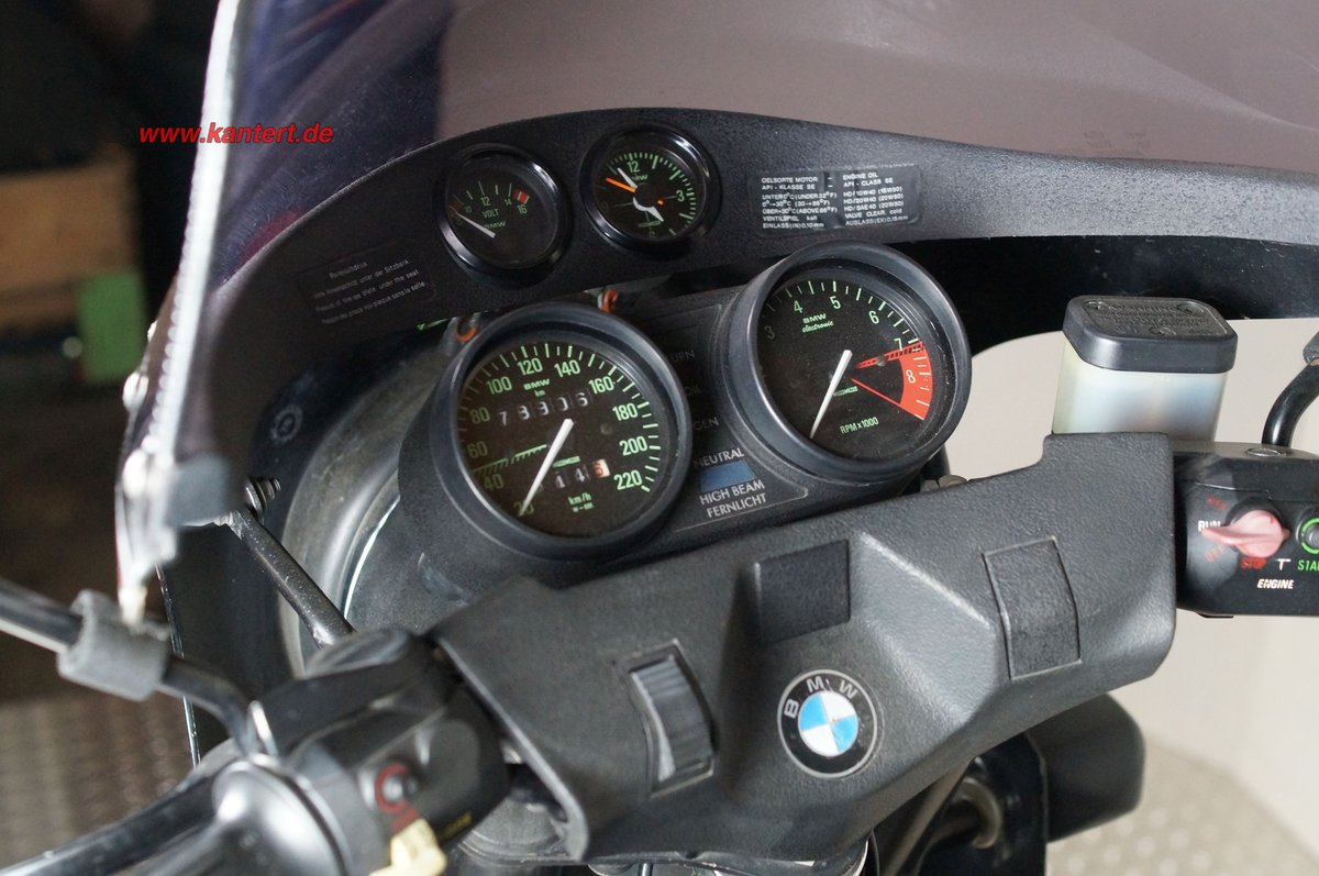 1982 BMW R 100, 78000 km, 980 cc, 67 hp For Sale (picture 6 of 6)