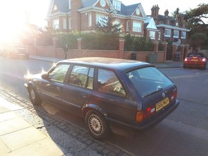 1989 BMW E30 318i Touring Royal Blue 1 owner £2450 ono For Sale
