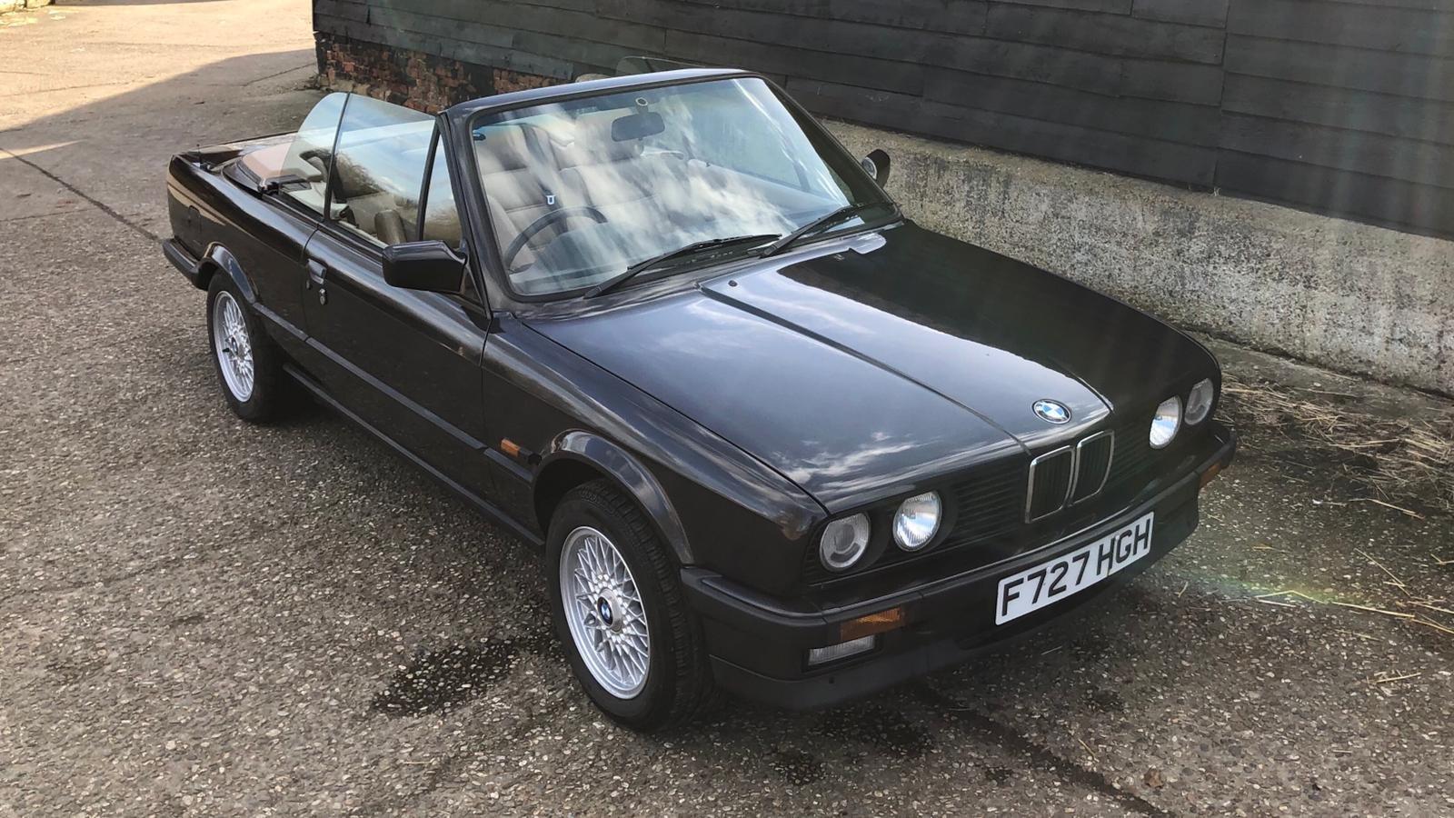 1989 BMW E30 325i Converitble FSH SOLD (picture 1 of 6)