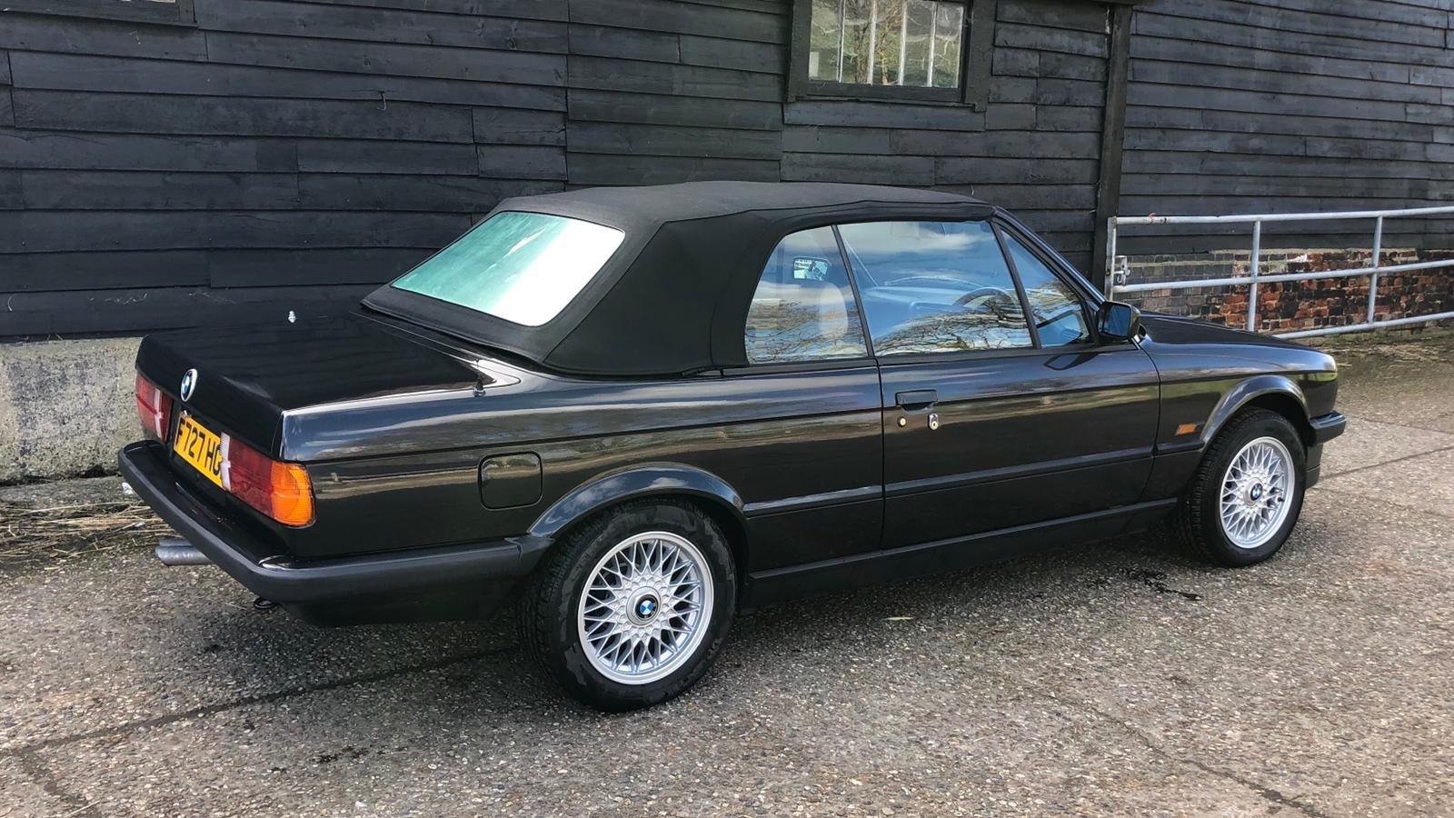 1989 BMW E30 325i Converitble FSH SOLD (picture 2 of 6)