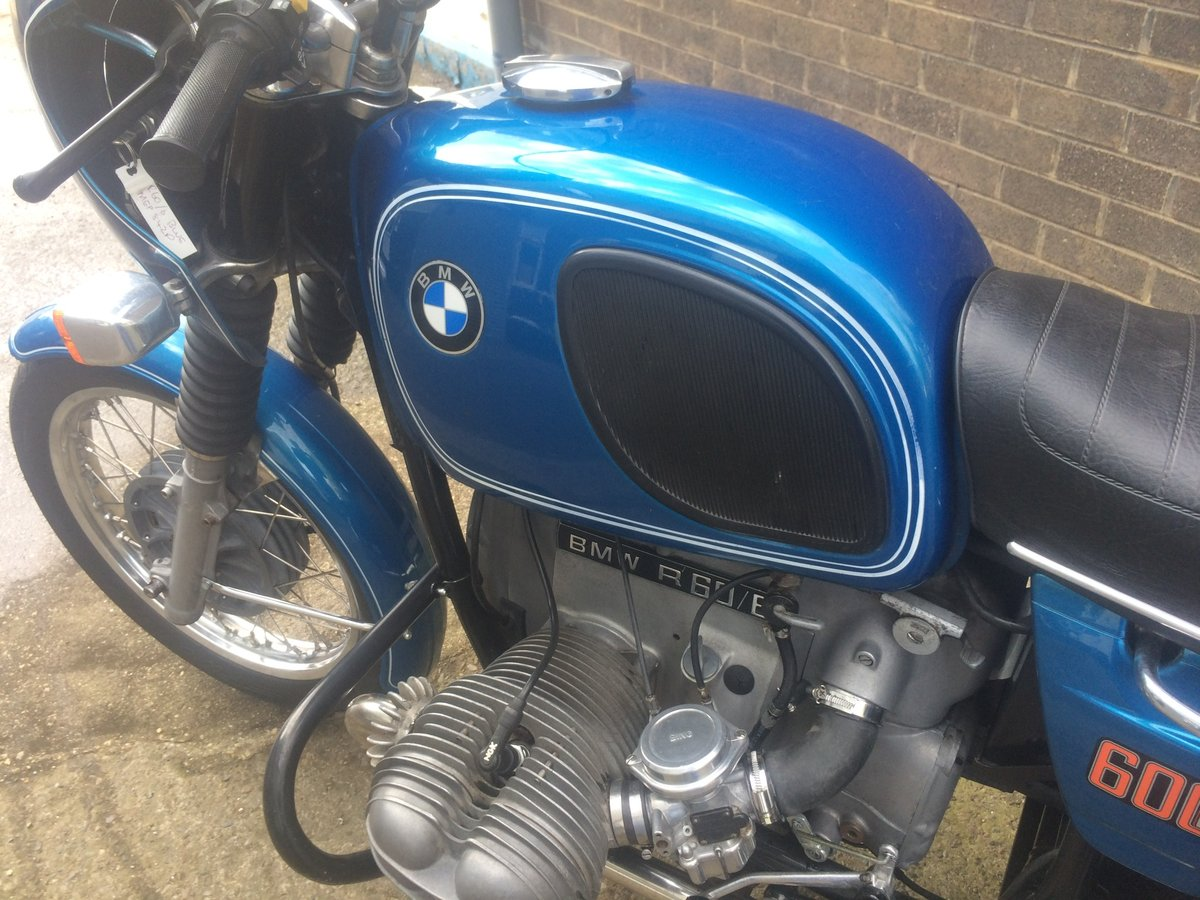 1975 BMW R60/6 For Sale (picture 5 of 6)