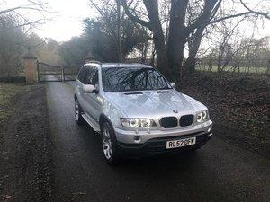 BMW X5 SPORTS D 2002  3L For Sale