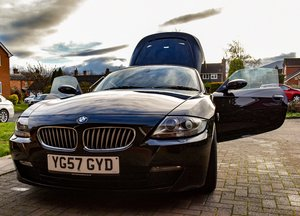 2007 BMW Z4 Coupe 3.0si Sport E86, 51k miles, Garaged For Sale