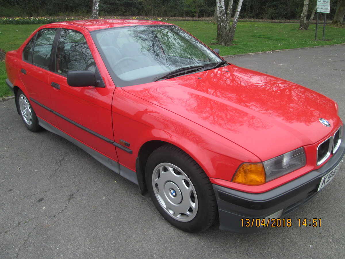 BMW 316i 1992, FSH, STUNNING, low miles,Manual. SOLD (picture 1 of 6)