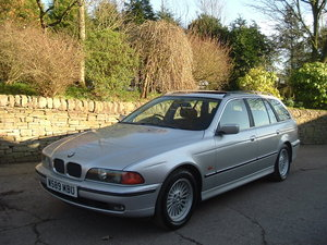 2000 00/W BMW 520i SE Touring Manual. E39. FBMWSH to 106k. For Sale