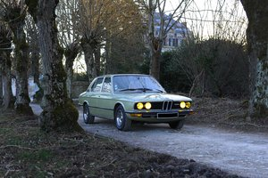 1977 - BMW 528 E12 SOLD by Auction