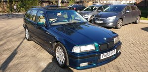 1997 Bmw e36 328i Touring Sport Manual boston green For Sale