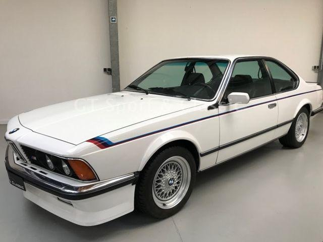 1986 BMW M635 CSI  no cat  europ  Specs. 80000 km For Sale (picture 1 of 6)