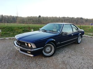 "1987 BMW 635 CSI with 17"" Alpina wheels For Sale"