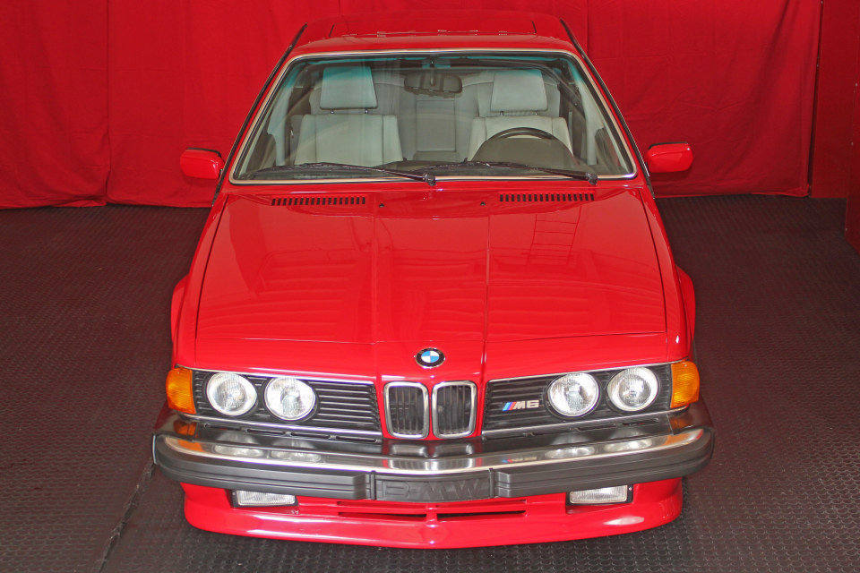 1987 BMW M6 Coupe = clean Red(~)Ivory 79k miles $$60k For Sale (picture 2 of 5)